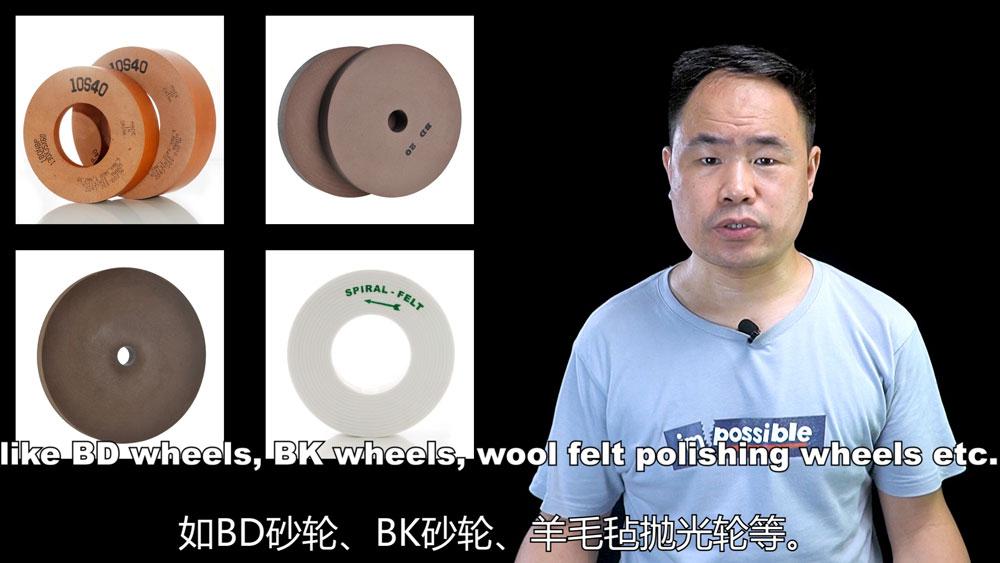 Polishing Wheels BD BK 10S wool felt