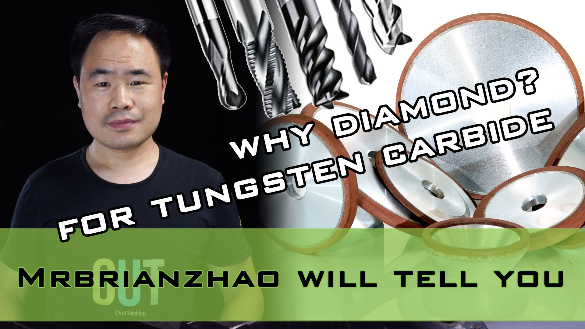 Why is diamond wheel suitable for grinding tungsten carbide